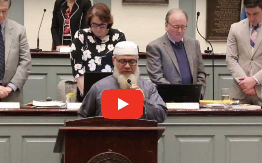 Muslim Leads PRAYER Against Infidels In Senate, Then A Veteran Steps In! [VIDEO]