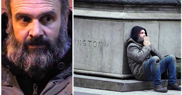 Veteran Spent 60 Days On The Streets, He's NEVER Giving The Homeless A Dime Again! (PHOTOS)