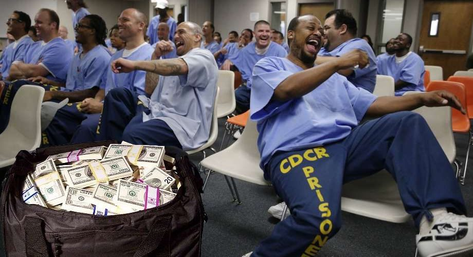 PELOSI PROPOSING STIMULUS CHECKS FOR PEOPLE IN PRISON!