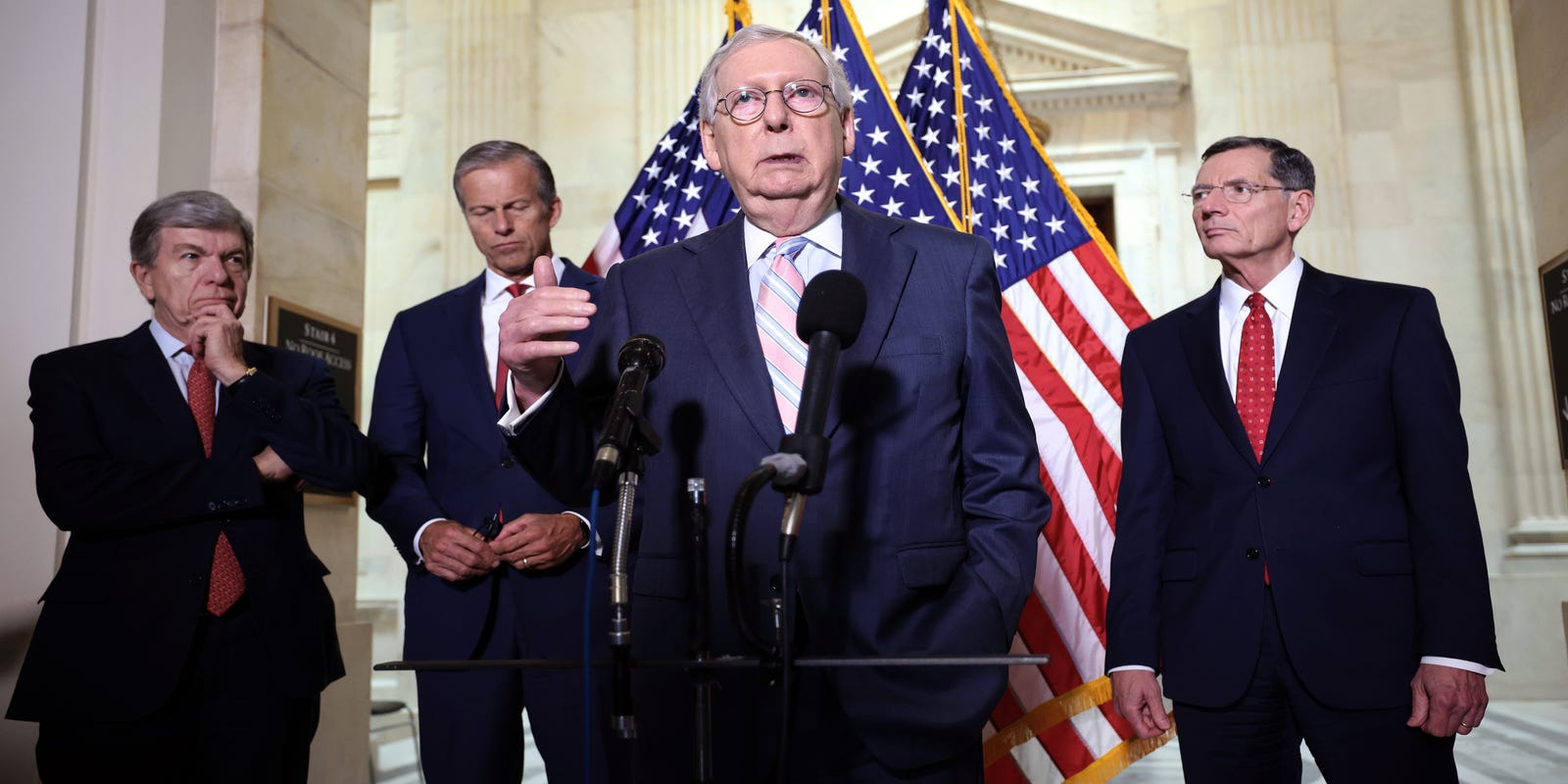 Mitch Just Exposed His Plan To SINK The Dems!