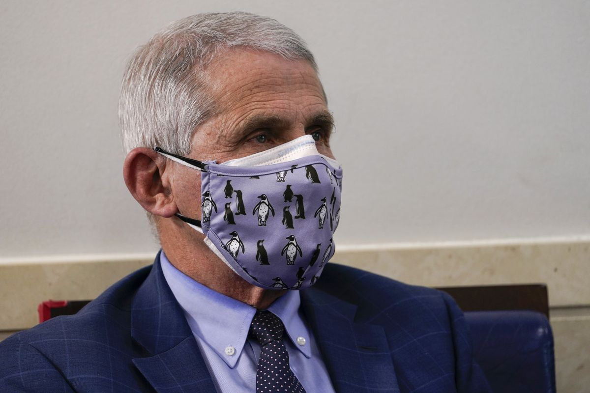 Fauci the Fraud Is Doubling Down On Masks Yet Again!