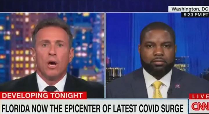 He Said Why He Didn't Get The Vaccine, And Chris Cuomo LOST HIS MIND!
