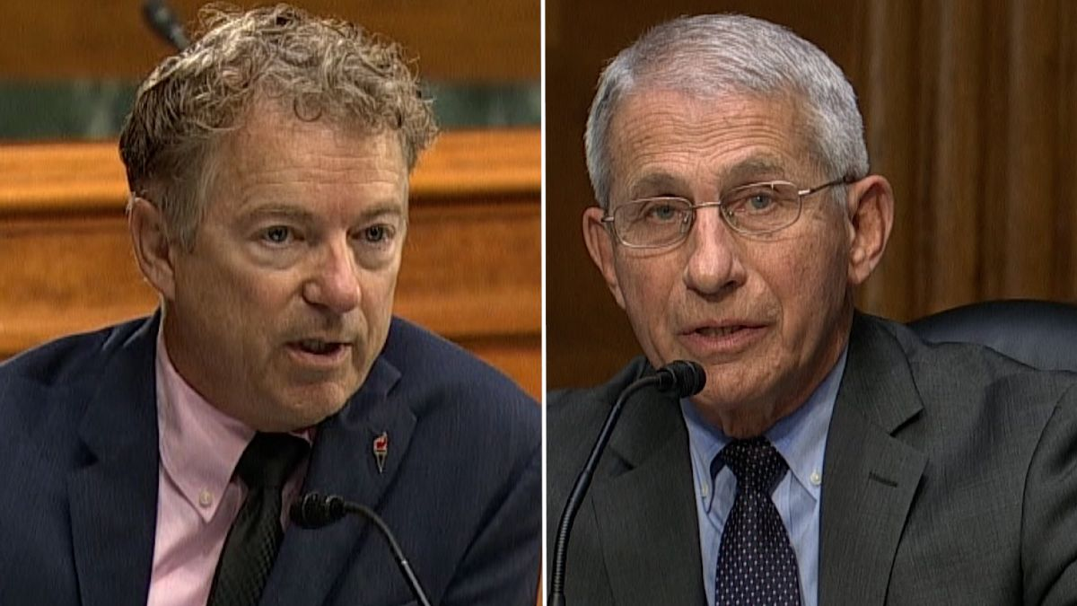 Rand Paul Stood Up And Ripped Fauci The Fraud A New One!